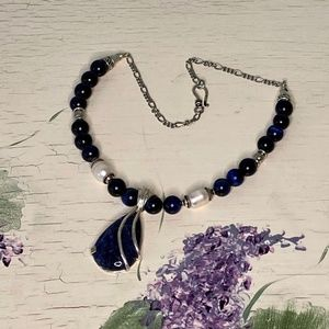 Jewelry - African Sodilite Necklace